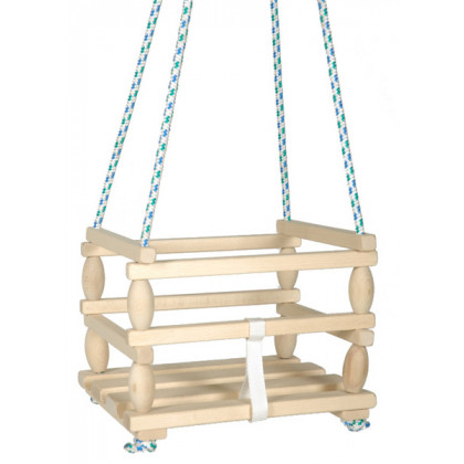 the Baby swing, wooden