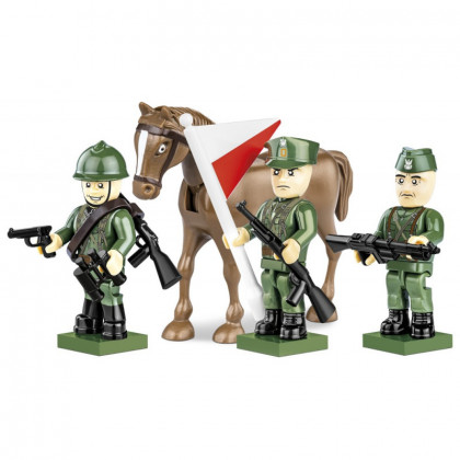 Figures with accessories Polish Army