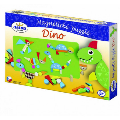 the magnetic puzzle - Dino