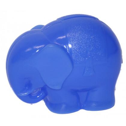 the plastic money box elephant