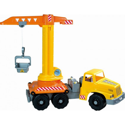 Car with a crane - length 71 cm