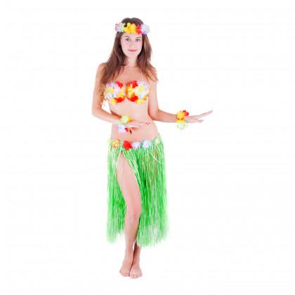 the Hawaii skirt, adult, green, 72 cm