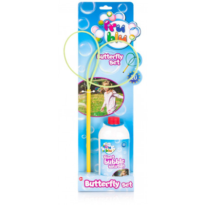 bubble bl. FRU BLU butterfly +fill 0,5L