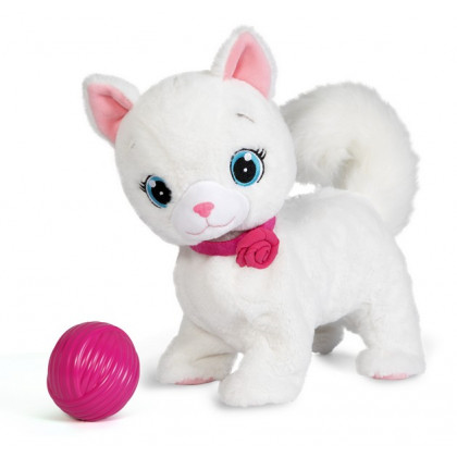the plush cat Bianca - interactive cat