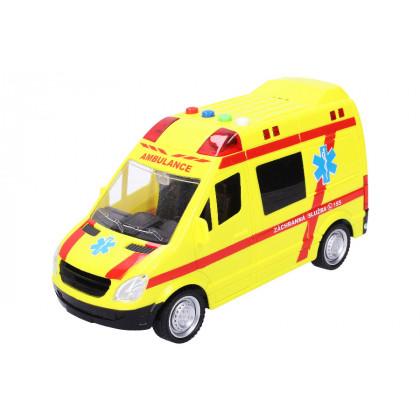 Car Ambulance with effects 22 cm