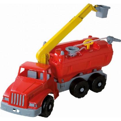 Fire truck with platform/syringe 74cm