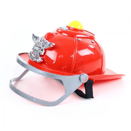 the firefighters helmet, sound & light