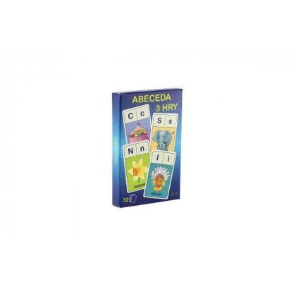 the Alphabet card game - 3 games