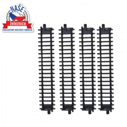 the Track 4 pcs straight - Our Railway