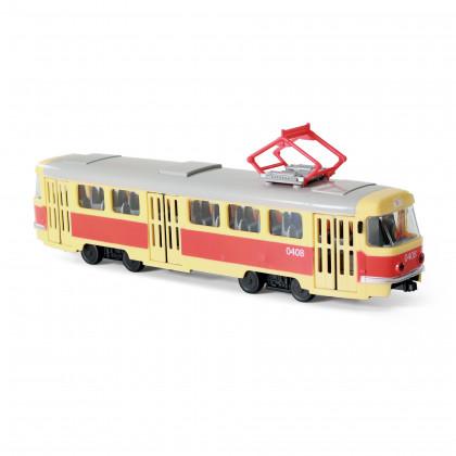 the Tram Czech reporting stops 28 cm