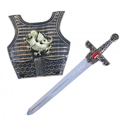 Knight sword with sound and shield