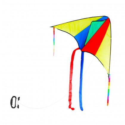 the flying kite 110 x 63 cm