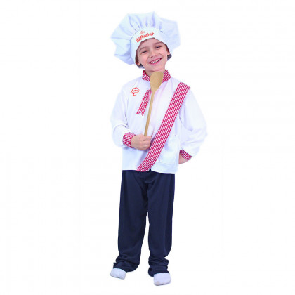 the children's cook costume, size M