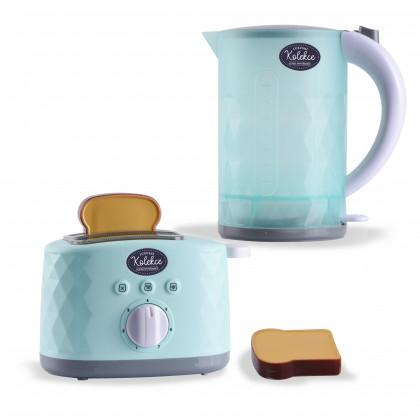 the Toaster and kettle luxury appliances