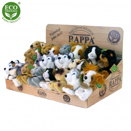 Exclusive plush dogs and cats display