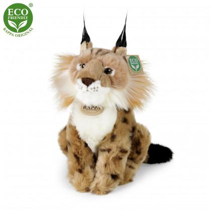 the plush lynx sitting, 23 cm