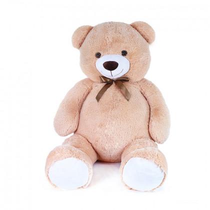 Big teddy bear Felix with a tag, 150 cm