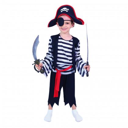 Children's pirate costume (M) e-pack