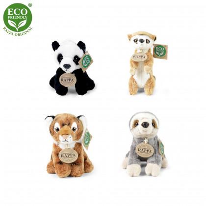 Exotic plush animals sitting 15 cm