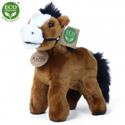 Plush horse with a sound 20 cm