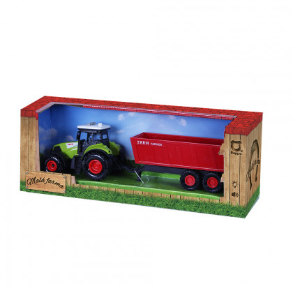Tractor with siding sound and light