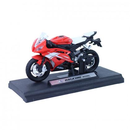 Plastic motorcycle 11 cm