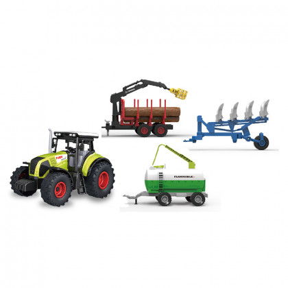Big tractor set with 3 sidings