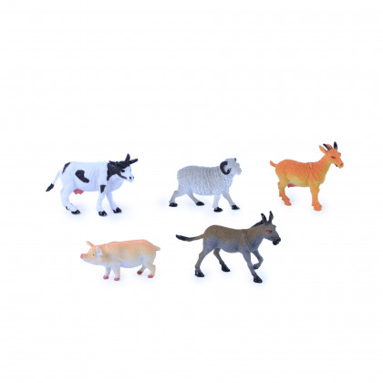 the domestic animals II., 5 pcs/package