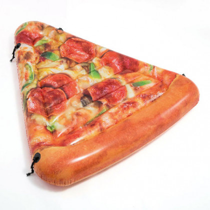 the inflat. mattress pizza 1,75m x 1,45m