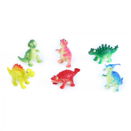 the happy dinosaurs, 6 pieces in package