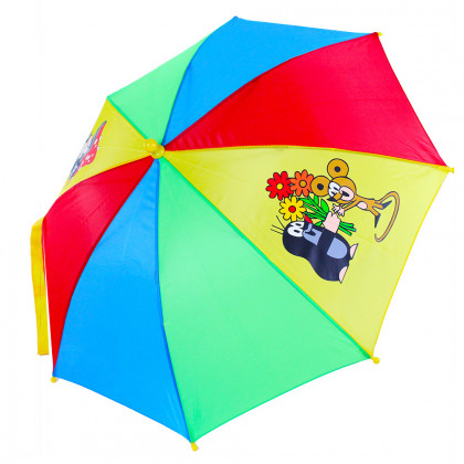 the umbrella with pictures of the Mole