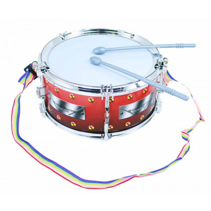 the drum with mallets