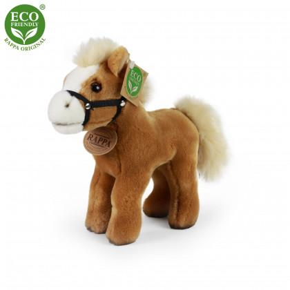 the plush horse standing 21 cm