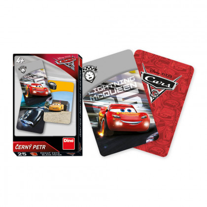 the Cards Black Peter - Cars 3