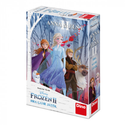 the game Anna and Elsa FROZEN 2