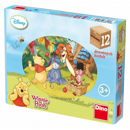 the Winnie the Pooh cubes, 12 cubes