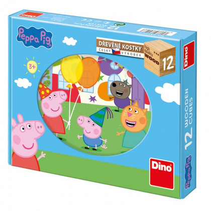the cubes Peppa Pig, 12 cubes