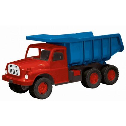 The Tatra 148 car blue-red plastic