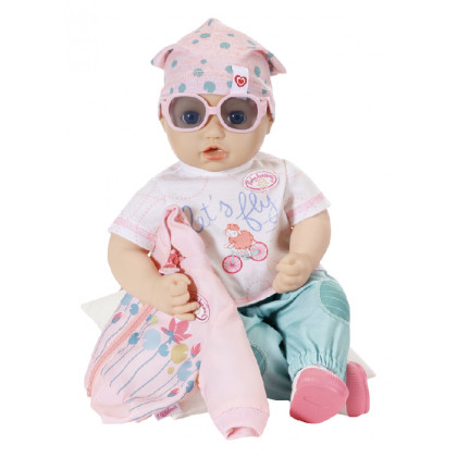 the Baby Annabell Bicycle set