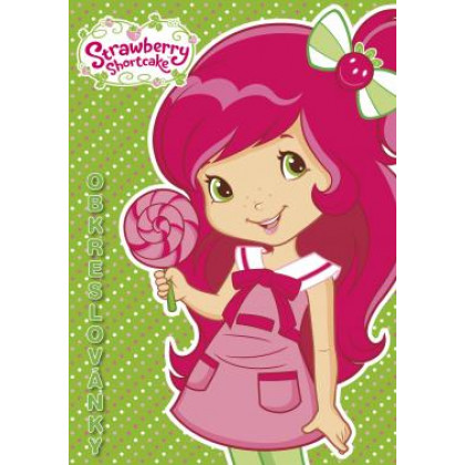 A5 Strawberry coloring page