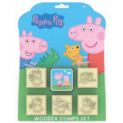 Stamps 5 + 1 Piggy Peppa