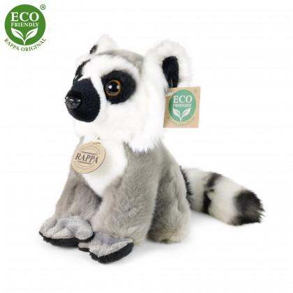 plyšový lemur sedící, 18 cm