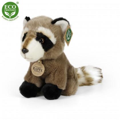 the sitting plush raccoon, 18 cm