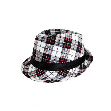 the checked hat, adult