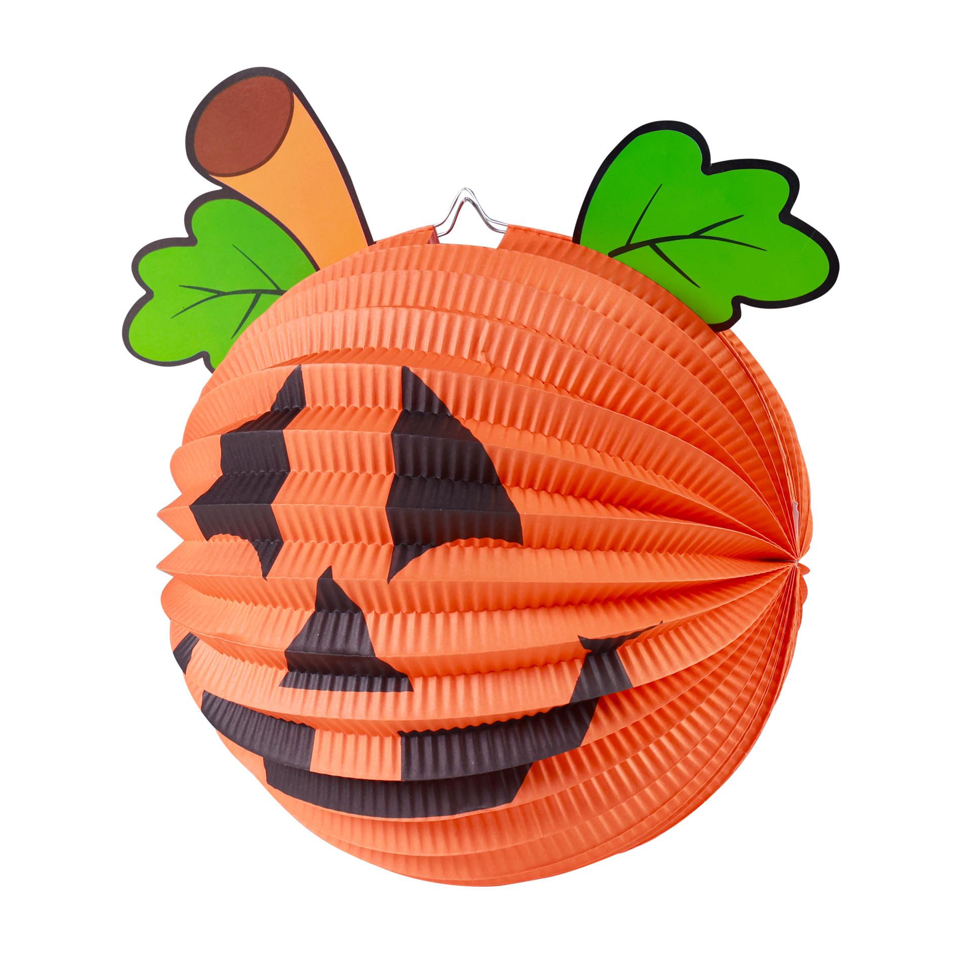 The round pumpkin lantern, 25 cm