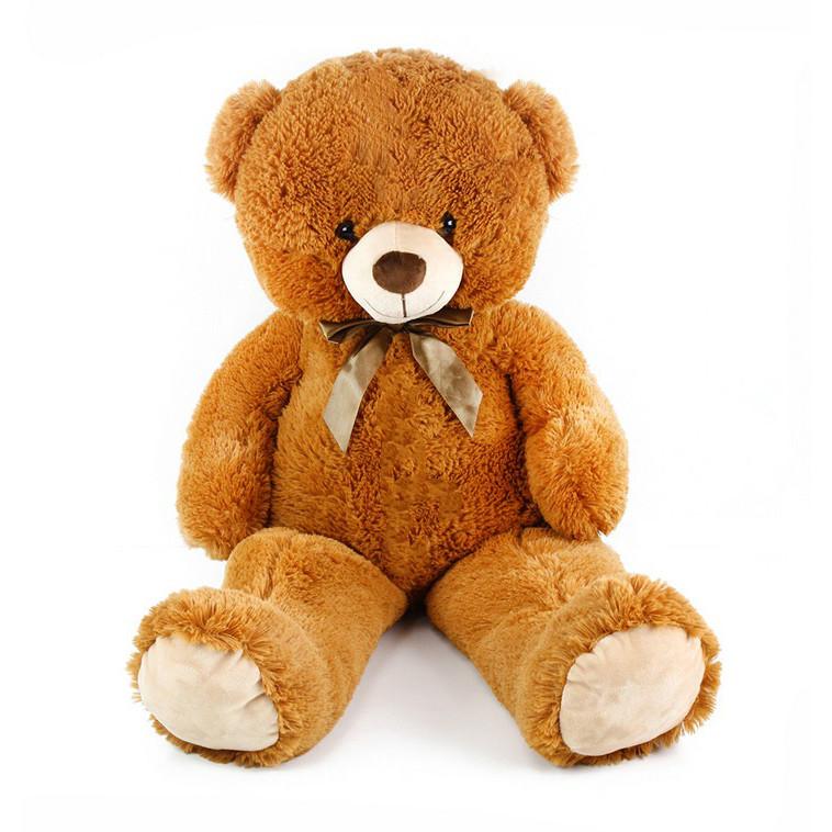 the brown teddy bear, 90 cm