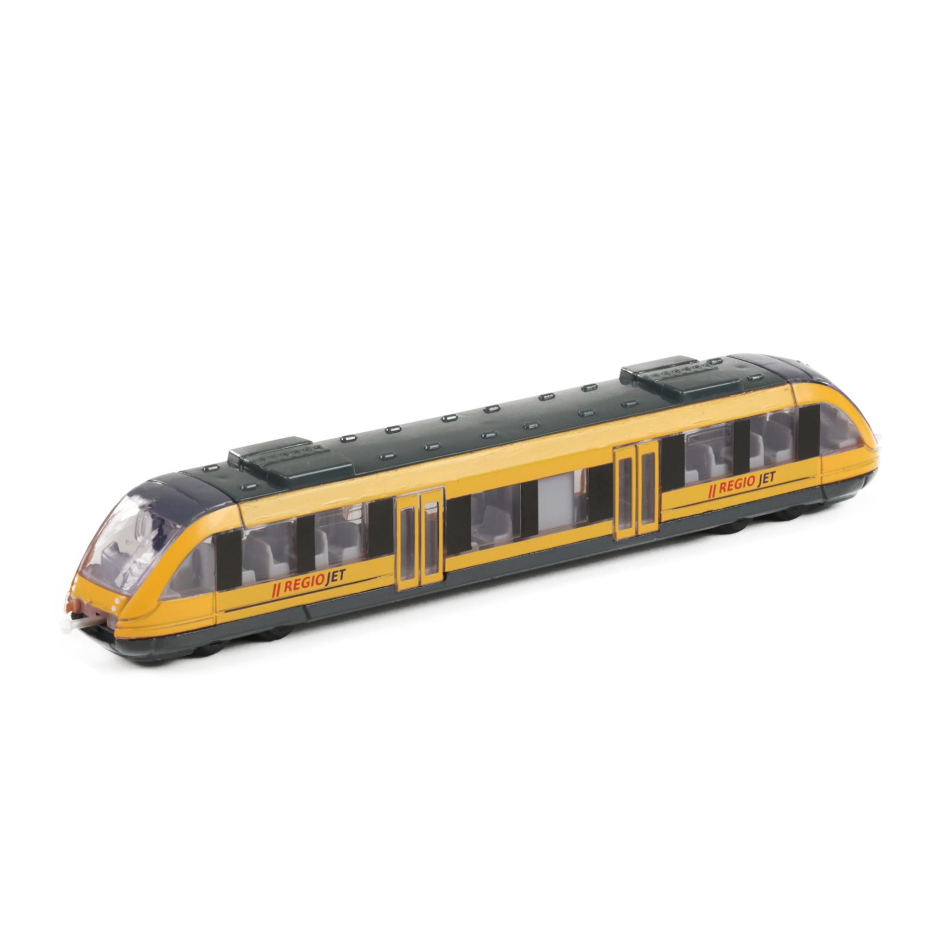 steel regional train RegioJet, 17 cm