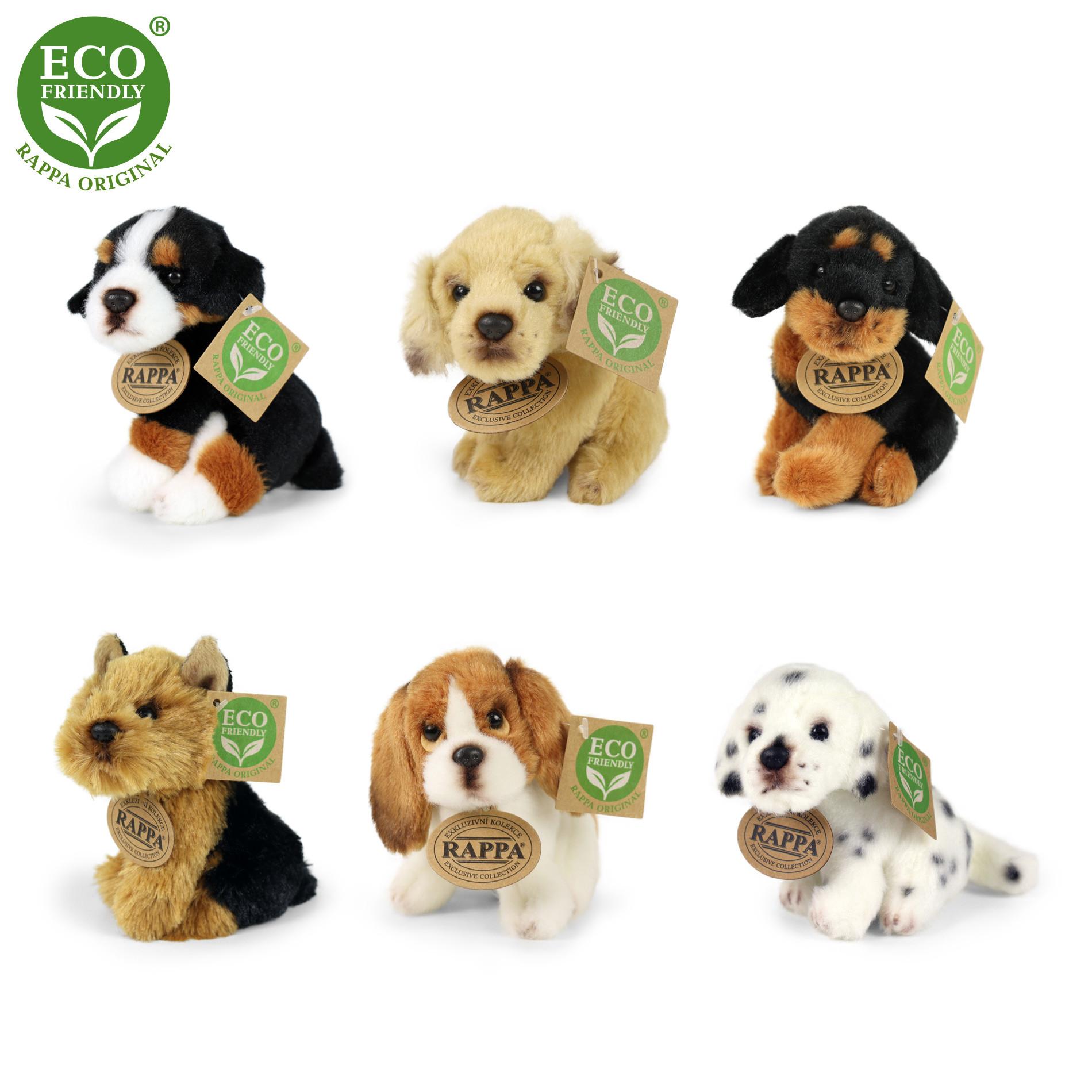 the plush dog 11 cm, 6 types