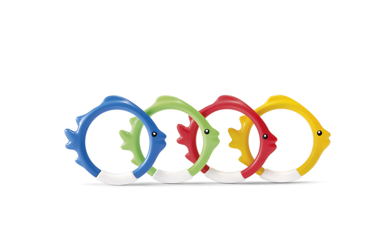 the rings in diving fish design