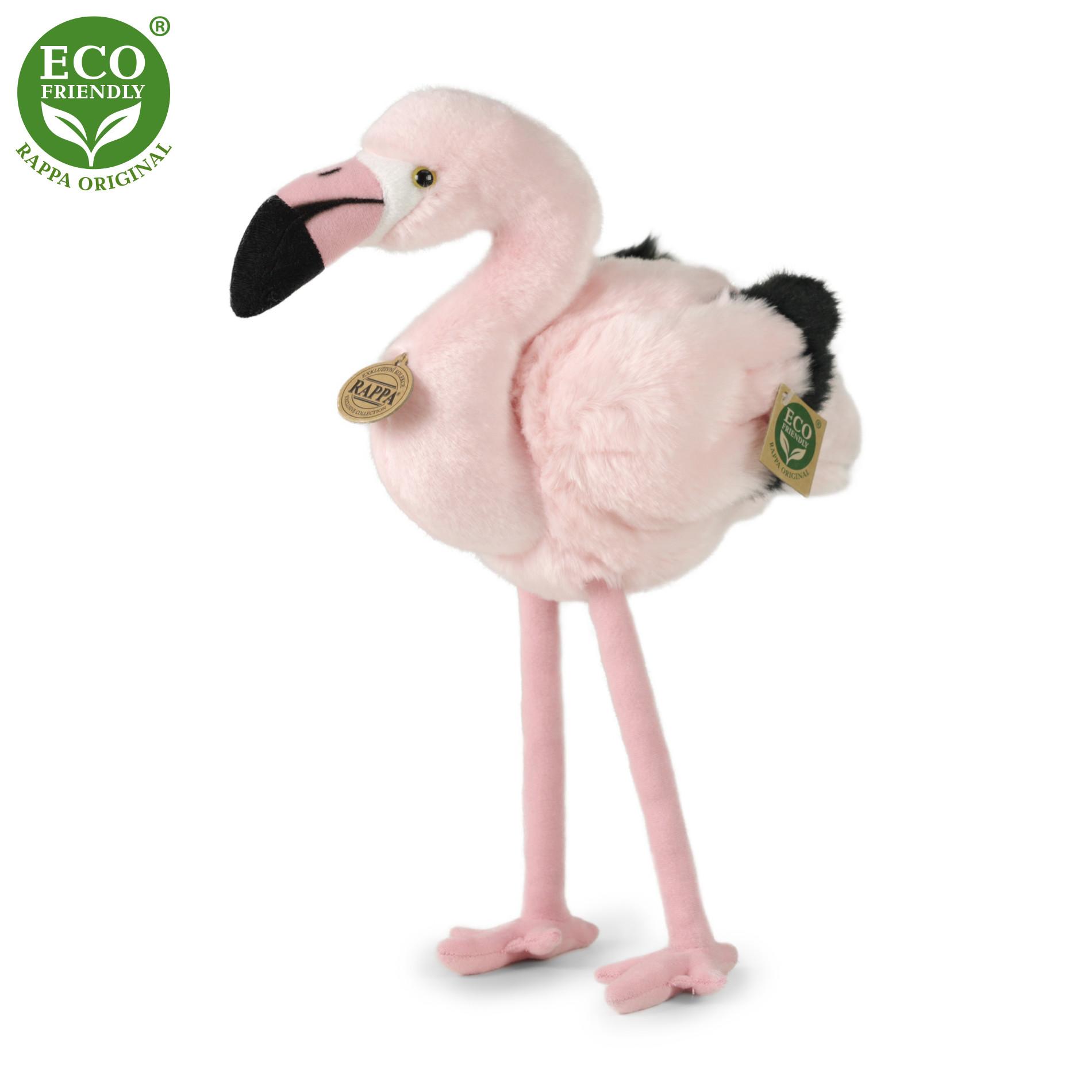 the plush flamingo, 34 cm